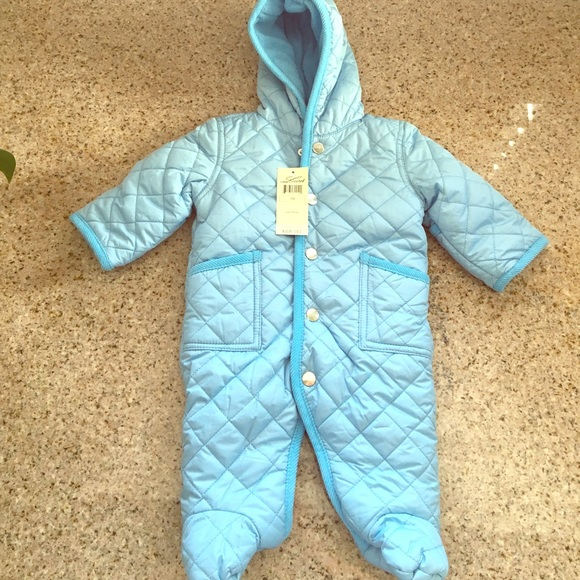 Leveret Other - 3m Leveret Baby Quilted Snowsuit Pram Bunting